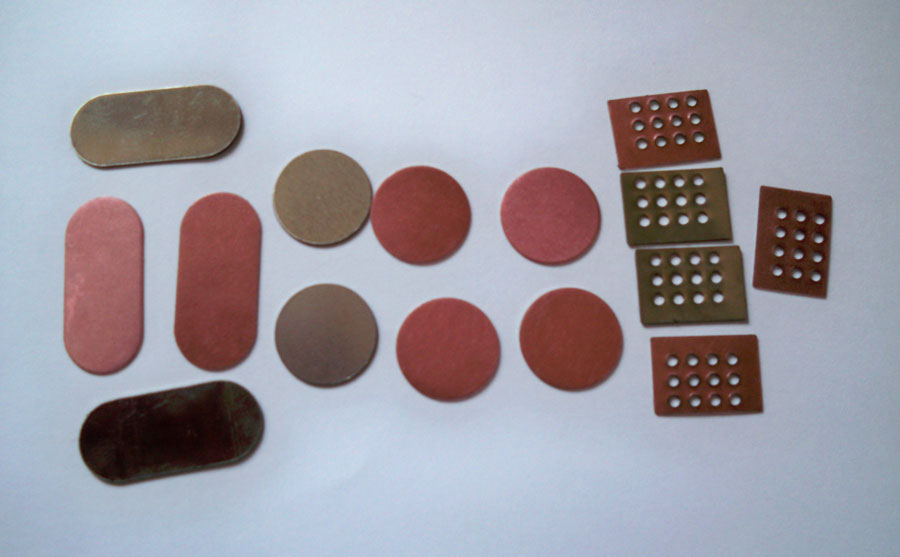 Stanzteile mit klebefolie bellinger hammer gmbh for Klebefolie metall